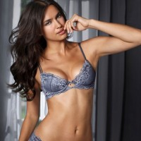 Irina Sheik for La Senza